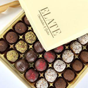 Date truffles luxury gift box