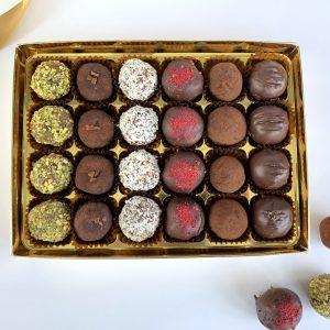 luxury truffle gift box