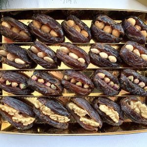stuffed dates with nuts